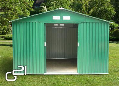Kerti ház G21 GAH 1092 - 311 x 351 cm - zöld