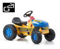 Traktor G21 CLASSIC - sárga/kék