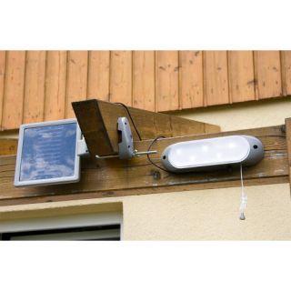 Kerti LED szoláris falilámpa Garth - 5 LED dióda