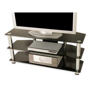 Elegáns TV asztal TUIN - fekete