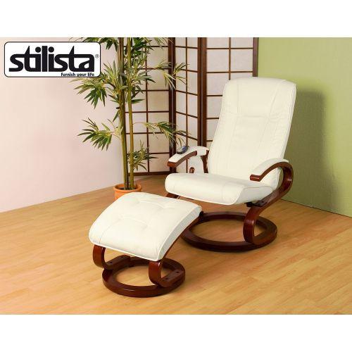 Masszázsfotel STILISTA® - fehér