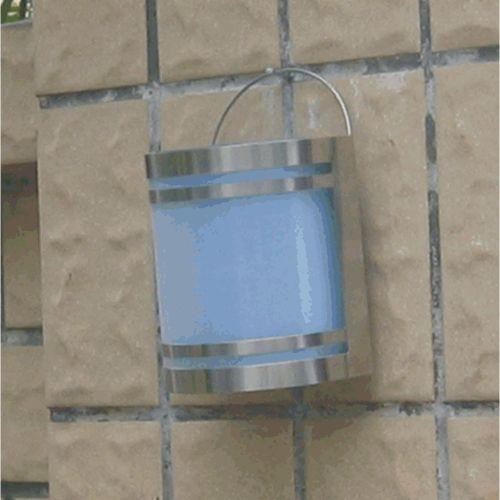 Kerti napelemes fali LED megvilágítás, rozsdamentes acélból, Garth