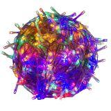 Karácsonyi  LED fényfüzér 60 m - színes 600 LED