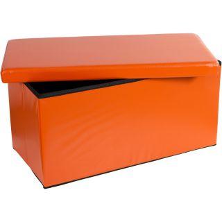 Összecsukható pad tároló STILISTA®  - narancssárga