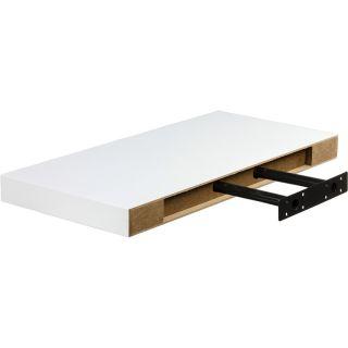 Fali polc STILISTA® Volato 50 cm - fehér