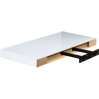 Fali polc STILISTA® Volato 50 cm - fehér fényes