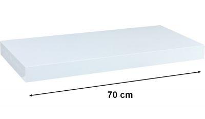 Fali polc STILISTA VOLATO -fehér 70 cm