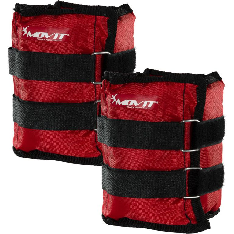 MOVIT bokasúly, 2 x 2,0 kg - piros