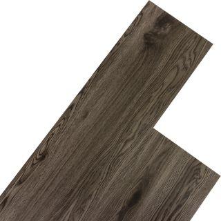 Úszó vinyl padló STILISTA 5,07m²,sötétszürke tölgy