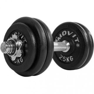 Súlyzó egykezes MOVIT® - 30 kg