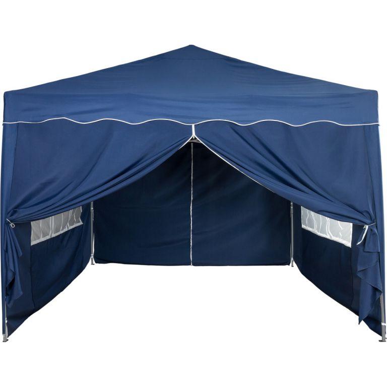 Kerti sátor összecsukható INSTENT Basic 3 x 3 m - kék