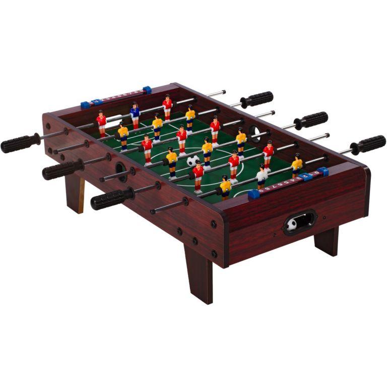 Mini asztali foci TUIN - sötétbarna
