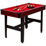 Pool biliárd asztal TUIN 4 ft 122 x 61 cm - piros