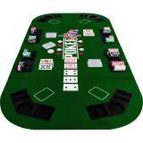 Kihajtható póker asztallap – zöld