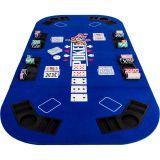 Kihajtható póker asztallap – kék