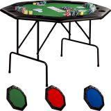 Póker asztal 8 személyes GARTHEN - zöld