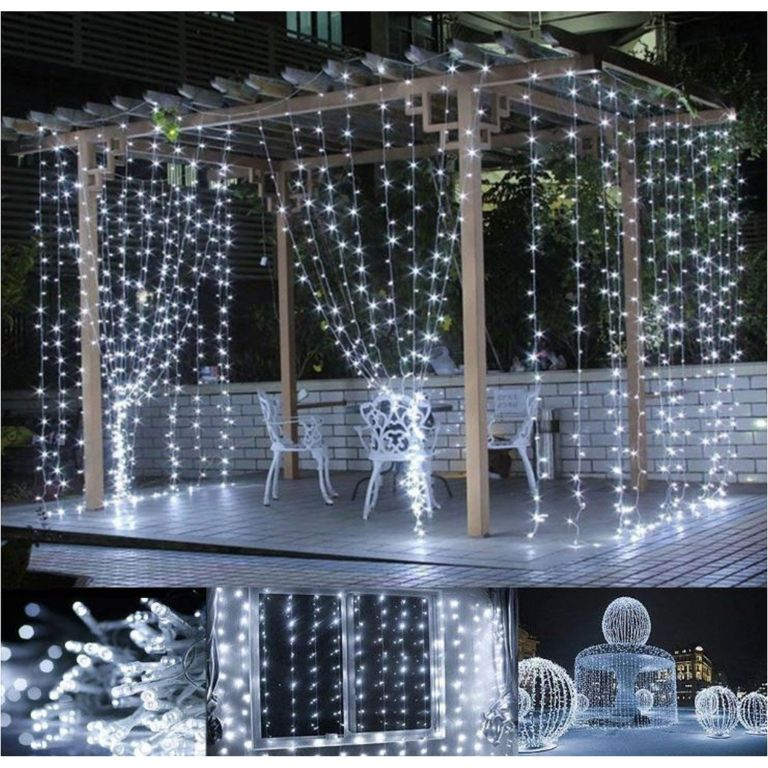 Karácsonyi fényfüggöny 3 x 3 m - 300 LED