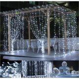Karácsonyi fényfüggöny 3 x 3 m/300 LED - hideg fehér