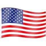 Zászló amerikai USA - 120 x 80 cm