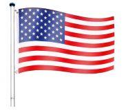 Zászló rúd amerikai FLAGMASTER®  6,5 m - USA