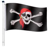 Zászló rúd FLAGMASTER® 6,5 m - kalóz