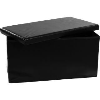 Összecsukható pad tároló STILISTA® - fekete
