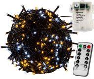 RMT elem fényfüzér VOLTRONIC® - 5m/50x LED fehér mix sötét