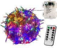 RMT elem fényfüzér VOLTRONIC® - 20m/200x LED színes