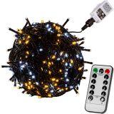 RMT fényfüzér VOLTRONIC® - 5m/50x LED fehér mix sötét
