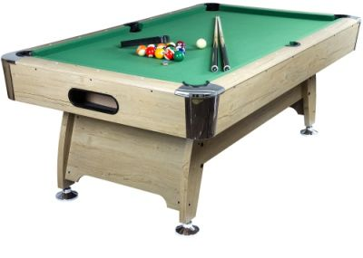 Pool biliárd asztal TUIN 7 ft 214 x 122 cm - zöld világos