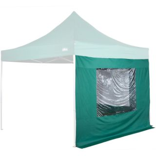 Két oldalfal STILISTA kerti sátorhoz 3 x 3 m - zöld