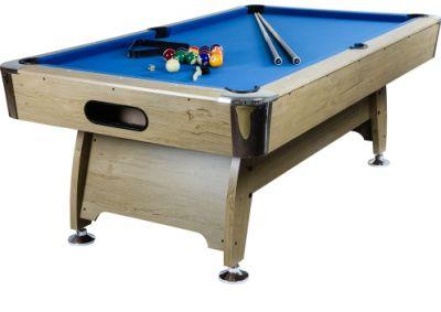 Pool biliárd asztal TUIN 7 ft 214 x 122 cm - kék világos