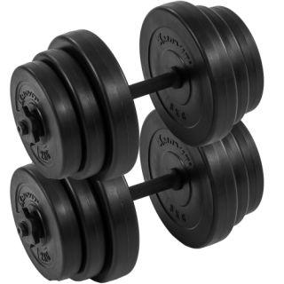 Egykezes súlyzó szett MOVIT® - 40 kg