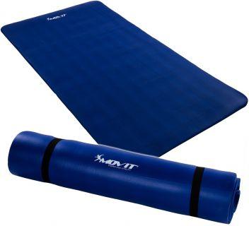 MOVIT jógamatrac - kék, 190 x 100 x 1,5 cm