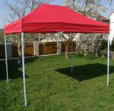 Kerti sátor pavilon CLASSIC 3 x 2 m - piros