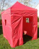 Kerti sátor DELUXE 2 x 2 m - piros