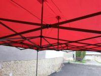 Kerti sátor pavilon DELUXE 3 x 3 m - piros