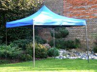 Kerti sátor pavilon DELUXE 3 x 3 m - kék
