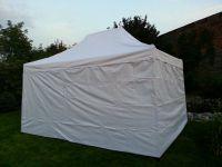 Kerti parti sátor DELUXE 3 x 4,5 m fehér