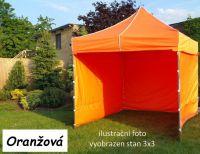 Kerti pavilon PROFI STEEL 3 x 4,5 - narancssárga