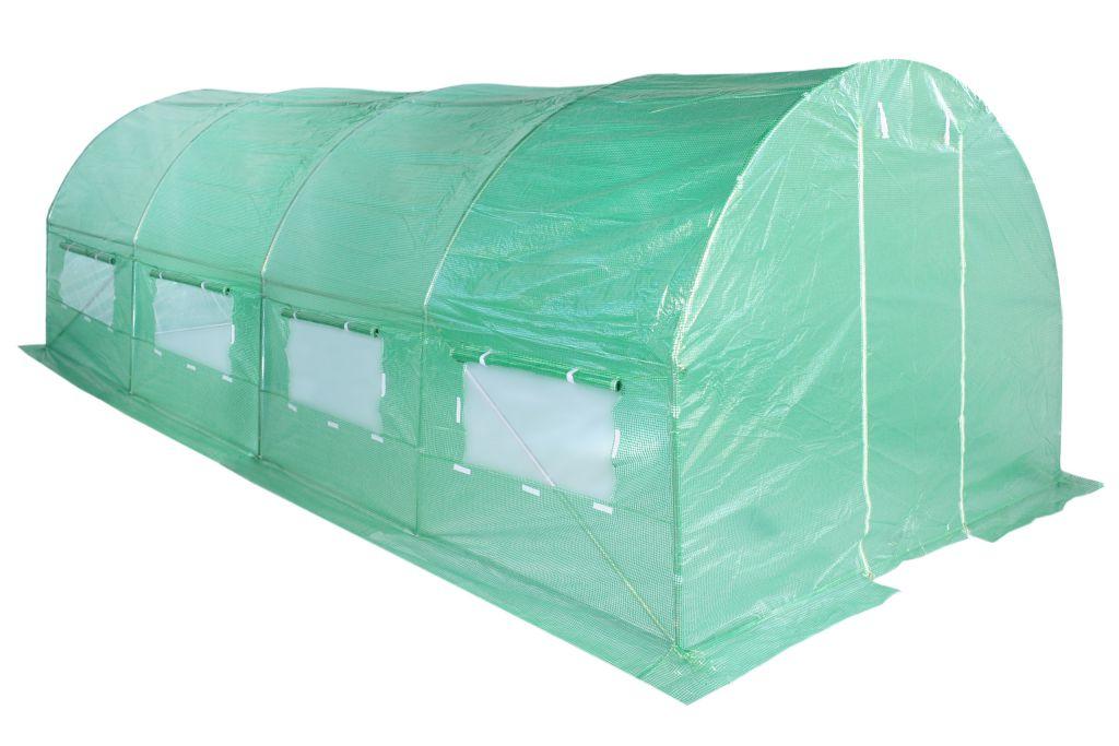 Fóliasátor 300 x 600 cm - zöld