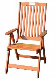 Kerti szék összecsukható HOLIDAY - fenyőfa