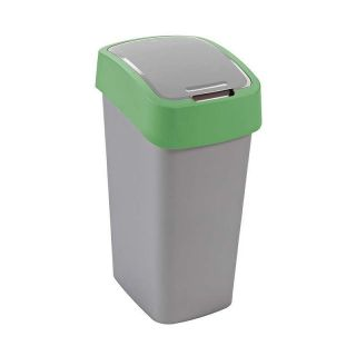 Szemeteskuka CURVER Flipbin 50l - zöld