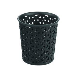 Műanyag tároló pohár Y STYLE - L- fekete CURVER