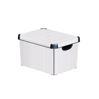 Műanyag tároló doboz DECO - L - CLASSICO CURVER