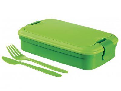 Uzsonnás doboz  LUNCH & GO box - zöld