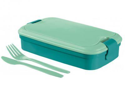 Uzsonnás doboz LUNCH & GO - kék (00768-B36)