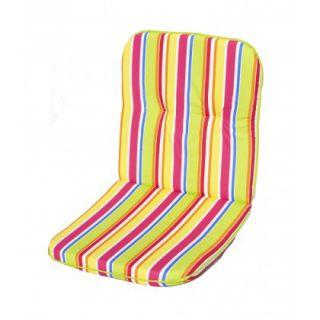 SCALA párna alacsony háttámlájú székhez - csíkos mintázattal