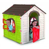 Gyerek játékház RANCHO PLAYHOUSE - zöld