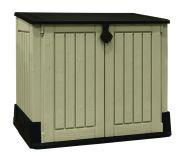 Kerti tároló doboz STORE 110 x 130 x 74 cm - bézs/barna